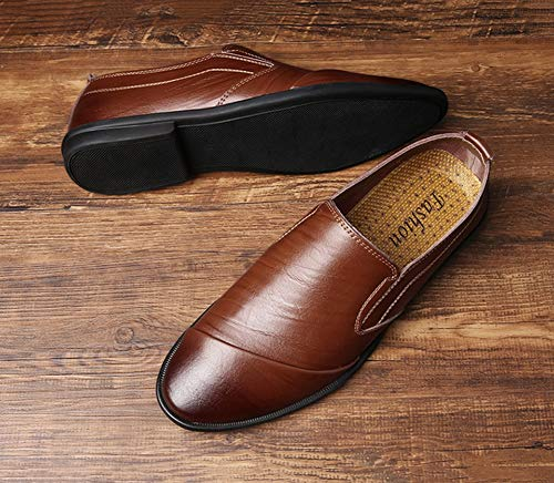 Mocassini Scarpe Guida Slip amp; ons Carriera Ufficio Comfort Hy 41 Casual Pigri Suole 2019 brown Luce Nuovi Mens BnxUqFW
