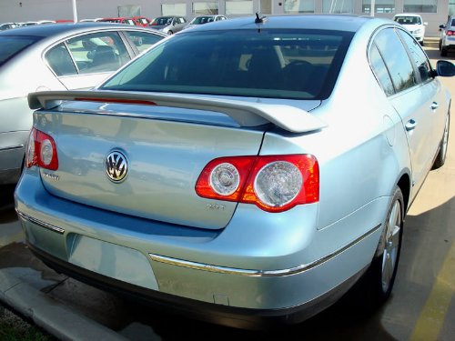 06-08 Volkswagen Passat Spoiler Custom W/LED - Painted : Painted Other Factory Color Not Listed (Spoiler Custom Volkswagen Passat)
