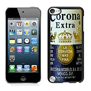 Unique And Antiskid Designed Cover Case For iPod 5 With Corona Extra Black Phone Case