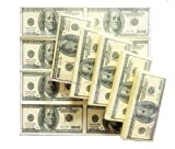 king's deal 50 Count $100 One Hundred US Dollar Bill Napkin 1:1 Size Tissue Paper Prank Fun Birthday Party Novelty Gift Idea (Dollar)