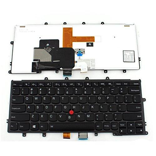 aGood Genuine Original US Layout Backlit Laptop Keyboard For Lenovo IBM Thinkpad X230S X240 X240S X240I X250 X260 12.5 Inch Laptop Competible 04X0177 0C43982 04X0215 ()