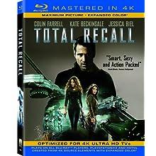Total Recall (Mastered in 4K) (Single-Disc Blu-ray + UltraViolet Digital Copy) (2012)