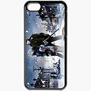 Personalized iPhone 5C Cell phone Case/Cover Skin 30 Days Of Night Black