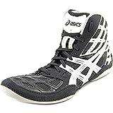 ASICS New Men's Split Second 9 Wrestling Shoe Black/Titanium/White 10