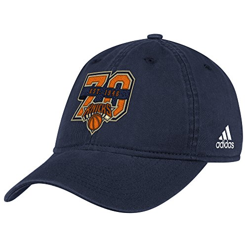 Adult men NBA Anniversary Slouch Hat,OSFM,Navy (Adidas Nba Team Slouch Cap)