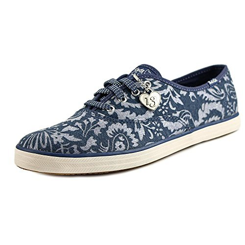 Keds Women's Champion Taylor Swift Brocade Jersey Blue Sneaker 8.5 B (M) (Jersey Swift)