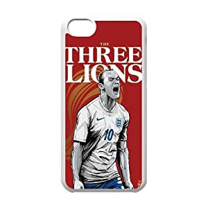 iPhone 5c Cell Phone Case White WorldCup England J3D7KX