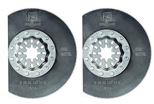 illating High Speed Steel Circular Saw Blade (2 Pack), 3-3/8