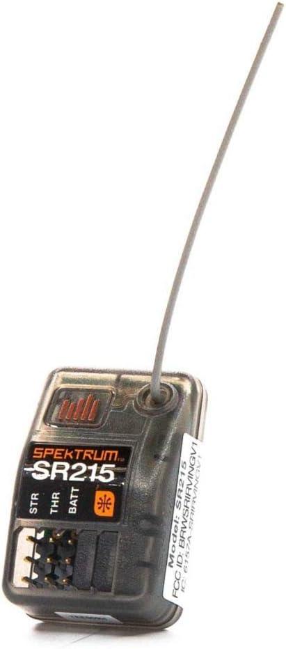 Spektrum SR215 2-Channel 2.4GHz DSMR RC Sport Receiver: Surface