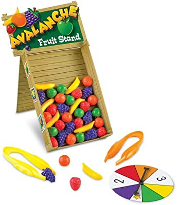 Learning Resources Avalanche Fruit Stand Colour and Fine