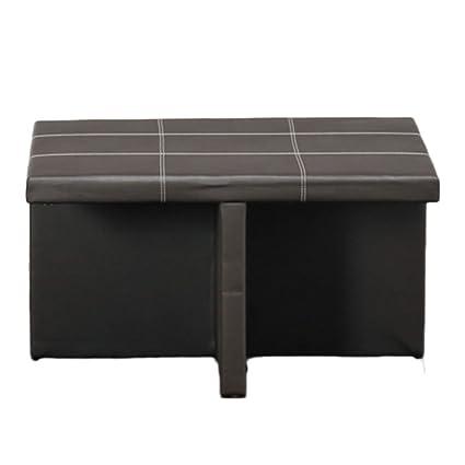 Muebles Dico MOC18307S1 Kubo Choco Mesa con 4 Taburetes, color ...