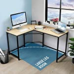 Corner Desk Office Desk for Home L-Shaped Desk Gaming Desk Large Computer Desk PC Laptop Study Gaming Table Workstation…