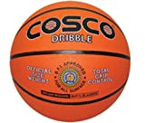 Cosco Dribble Basket Balls, Size 5 (Orange)