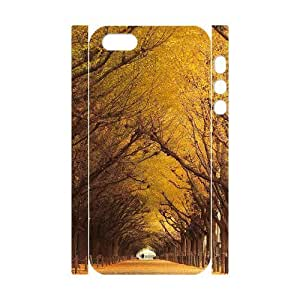 Fall Personalized 3D Case for Iphone 5,5S, 3D Customized Fall Case