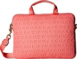 Marc Jacobs Women's 13'' Commuter Case Coral One Size