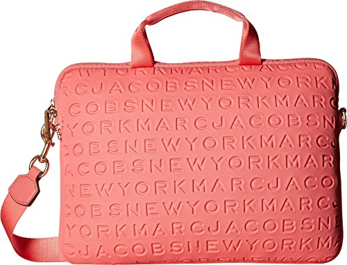 Marc Jacobs Women's 13'' Commuter Case Coral One Size by Marc Jacobs