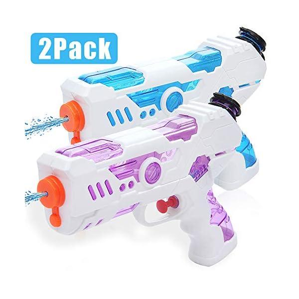 Zaloife Pistole ad Acqua Giocattolo, Squirt Gun per Bambini e Adulti, Summer Giocattoli per Water Fight, Super Water… 1 spesavip