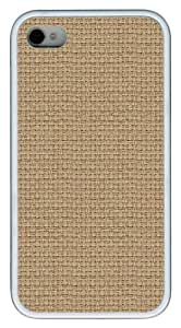 Wicker1 TPU Case Cover for iPhone 4 and iPhone 4S White