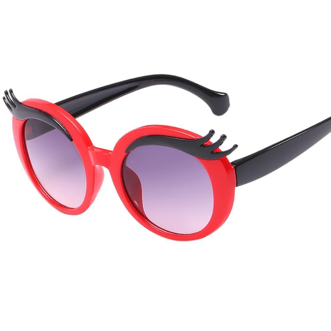 Amazon Feitong Anti Uv Glasses Cartoon Eyebrows Kids Boys Girls