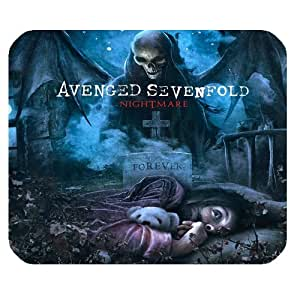 Custom Rock Band Avenged Sevenfold High Quality Printing Rectangle Mouse Pad Design Your Own Computer Mousepad