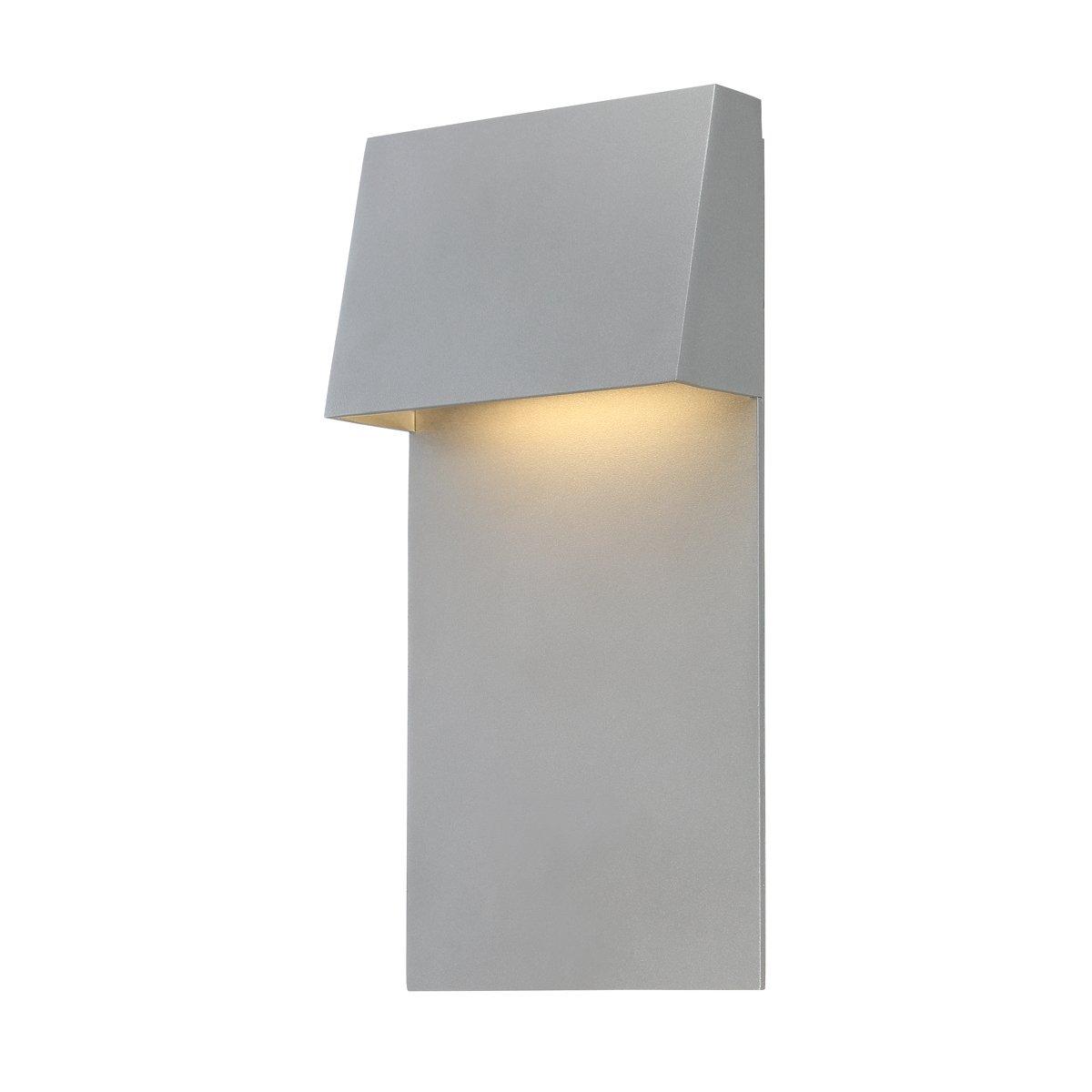 WAC照明ws-w53614 Zealous Singleライト14「高統合LEDアウトドア壁、 14