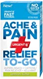 UrgentRx Ache and Pain Relief To Go Powder, 10 Count