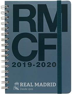 Agenda escolar 2019/2020 semana vista Real Madrid: Amazon.es ...