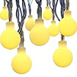 Innoo Tech 50 Led Fairy Lights Indoor Globe Patio String with Warm White Ball for Christmas Outdoor Wedding Festoon Party