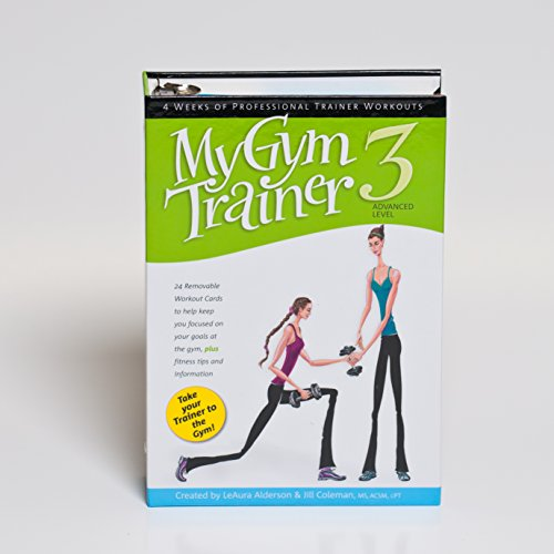 My Trainer Fitness Workout Plans - My Gym Trainer 3-Advanced 4-week workout cycle by My Trainer Fitness