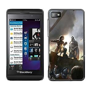 Caucho caso de Shell duro de la cubierta de accesorios de protección BY RAYDREAMMM - Blackberry Z10 - Peter Dinklage
