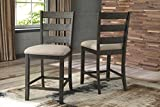 Signature Design by Ashley D397-124 Rokane Bar Stools, Brown Review