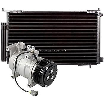 AC Compressor w/A/C Condenser & Drier For Honda CR-V 2002 2003 2004 2005 2006 - BuyAutoParts 60-86872R3 New