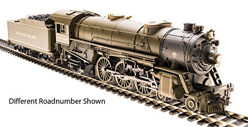 Broadway Limited Baltimore & Ohio Heavy 4-6-2 Pacific #5304 W/ Sound & DCC