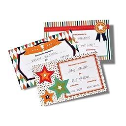 Gartner Studios Write-In Award Certificates # 73876