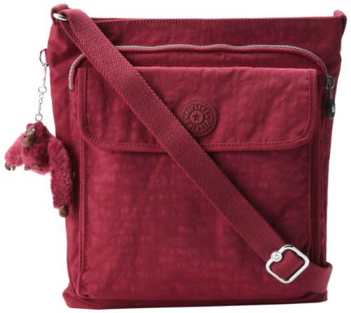 Kipling Machida, Deep Red, One Size, Bags Central