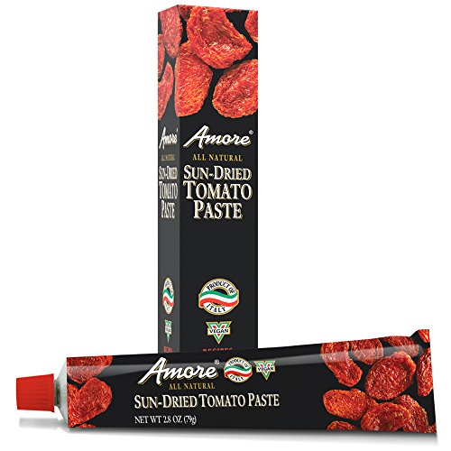 Amore All Natural Sun-Dried Tomato Paste, 2.8 Ounce (Pizza Sauce Tomato Paste)