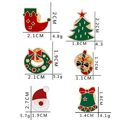 Hemore Jouet éducatif Cadeau pour   Automne et Hiver Hiver Hiver Broche de Noël Broche vêteHommes ts C1136-1 Guirlande 1 Pack 4d4bdf
