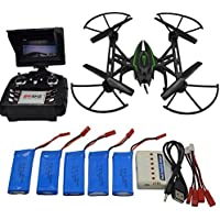 Blomiky X-Predators JXD 510G 5.8G FPV WIFI HD 720P Quadcopter Drone with HD Camera Altitude Hold RC Hobby Helicopter 510G Extra 5 Battery