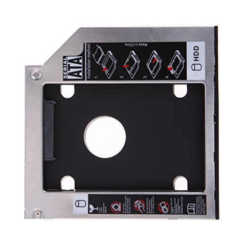 UEB 9.5mm Universal SATA 2nd HDD SSD Hard Drive Caddy Tra...