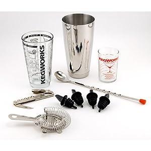 pro bartender cocktail mixing set barware tool sets kitchen dining. Black Bedroom Furniture Sets. Home Design Ideas