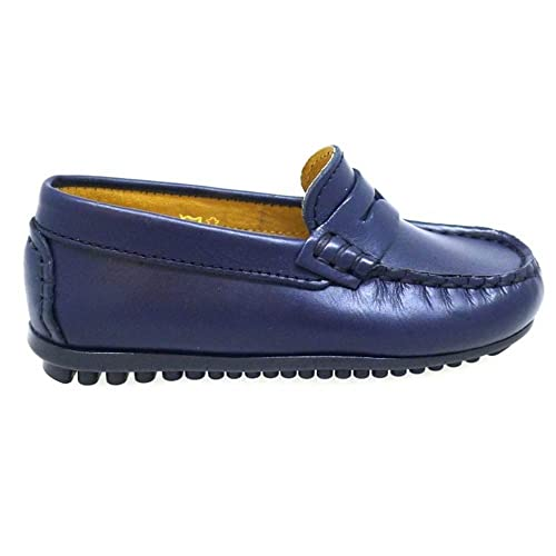 CHIQUIMOC Zapatos Niño Colegio 300 Azul: Amazon.es: Zapatos y complementos