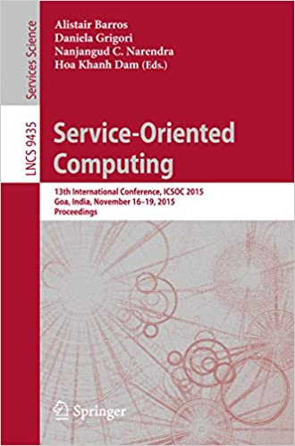 E-kirjat ovat ladattavissa ilmaiseksi pdf-muodossa Service-Oriented Computing: 13th International Conference, ICSOC 2015, Goa, India, November 16-19, 2015, Proceedings (Lecture Notes in Computer Science) B018HU1EFO PDF DJVU FB2