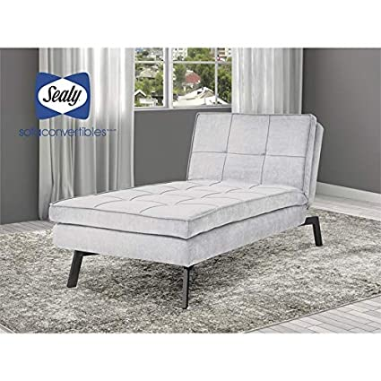 Amazon.com: Sealy Sofa Convertibles Jackson Chaise ...
