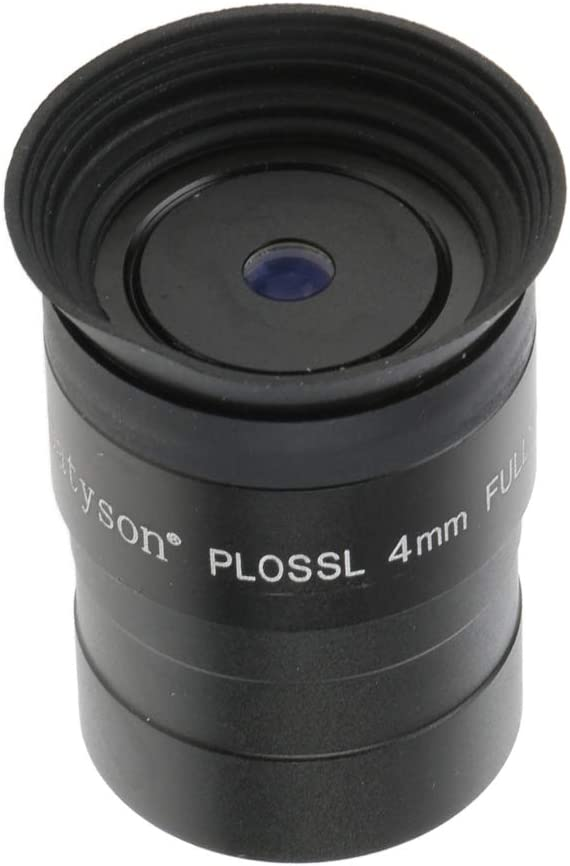 1.25 Inch Plossl Eyepiece PL4mm Fully Coated Lens for Astronomy Telescope