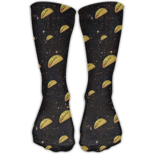 Nice Taco Women & Men Socks Soccer Sport Tube Stockings Length 30cm ()