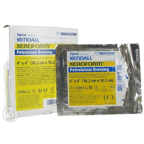 Xeroform Petrolatum Gauze (4