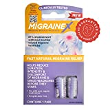 MigraineX® clinically proven to prevent Weather related migraine symptoms before they start, Download Free Alert app, VALUE PACK (2 pack)