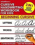 Cursive Handwriting Workbook for Kids: 3-in-1