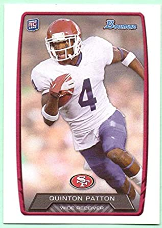 6f989478d32 Quinton Patton 2013 Bowman Rookie  131 - San Francisco 49ers at ...