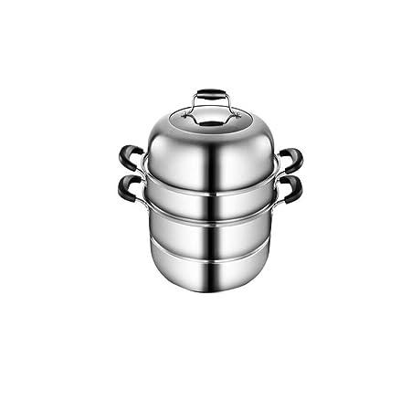 Recipiente de vapor, cocina casera conjunto de vapor de acero ...